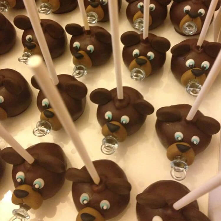 teddy bear lollipops