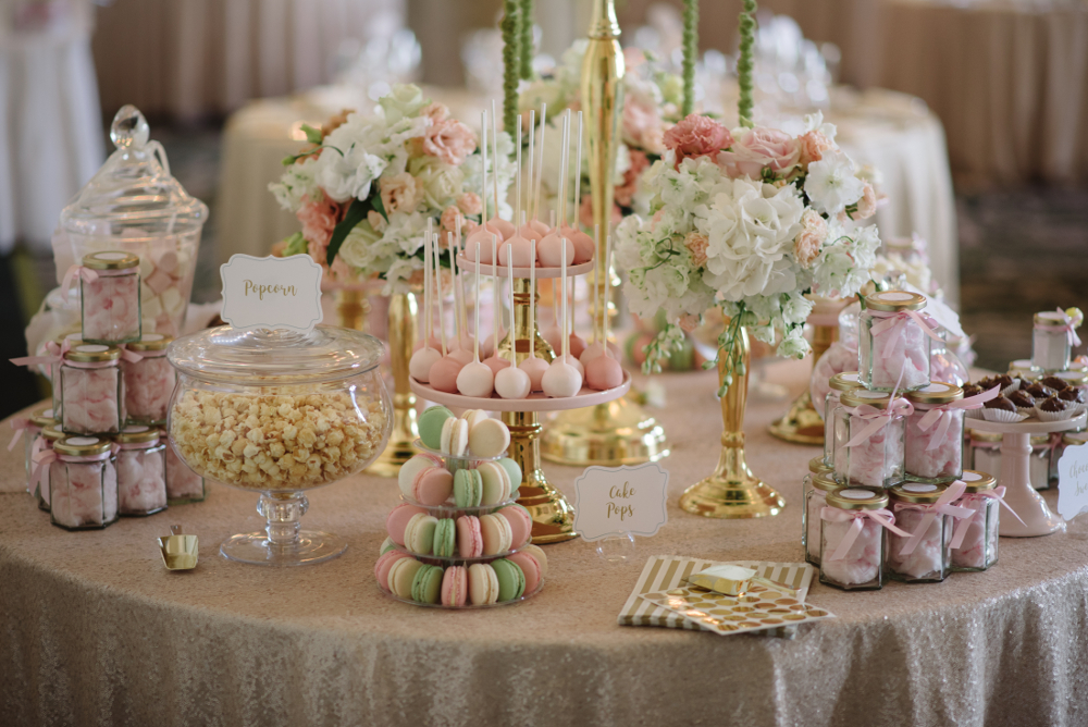 The Balmoral Wedding Sweetie Table Display