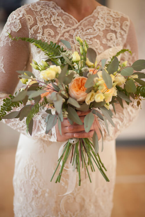 edinburgh bridal bouquet