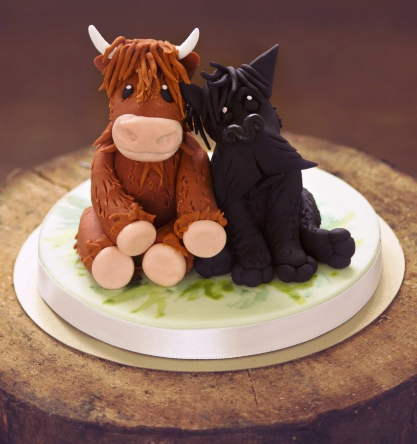 cow wedding cake toppers uk wedding cakes edinburgh bespoke designs for your wedding day 13034