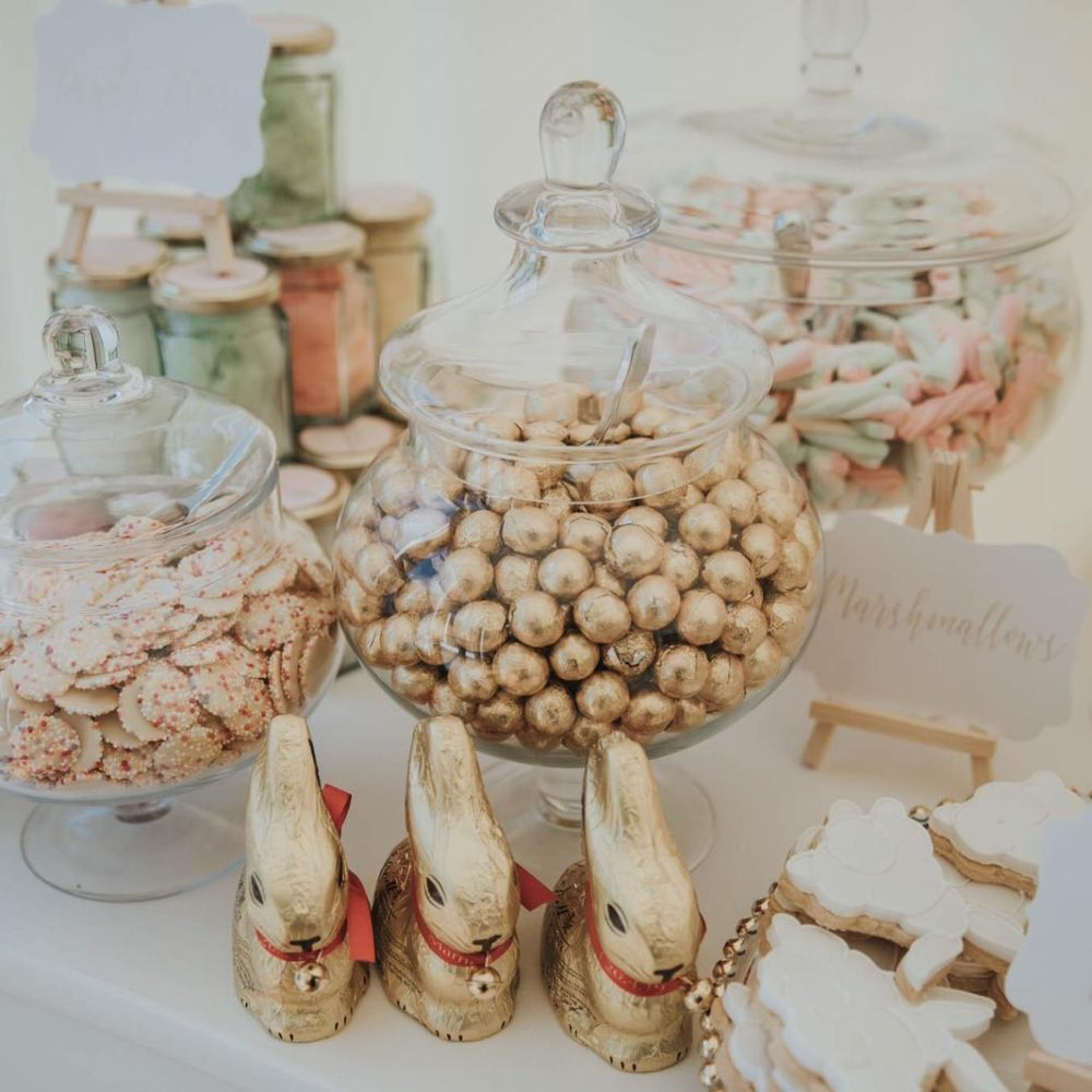 chocolate wedding sweets