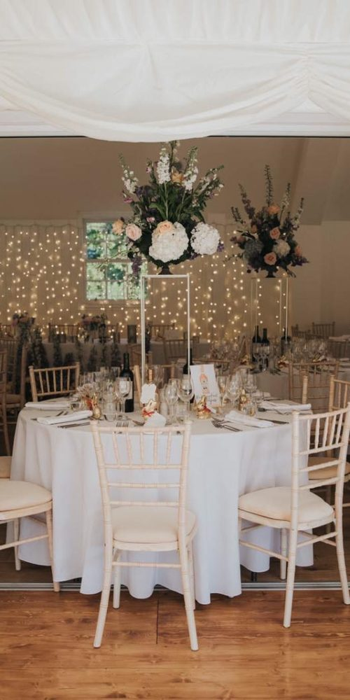Wedding Table Floral Display
