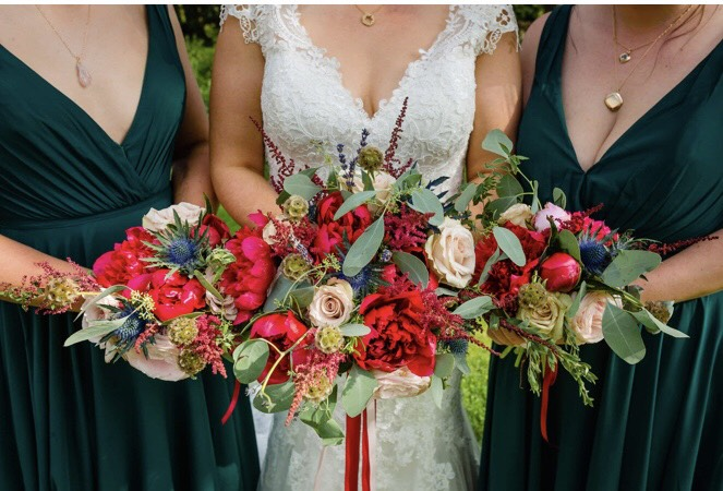 Wildflower Wedding Bouquets